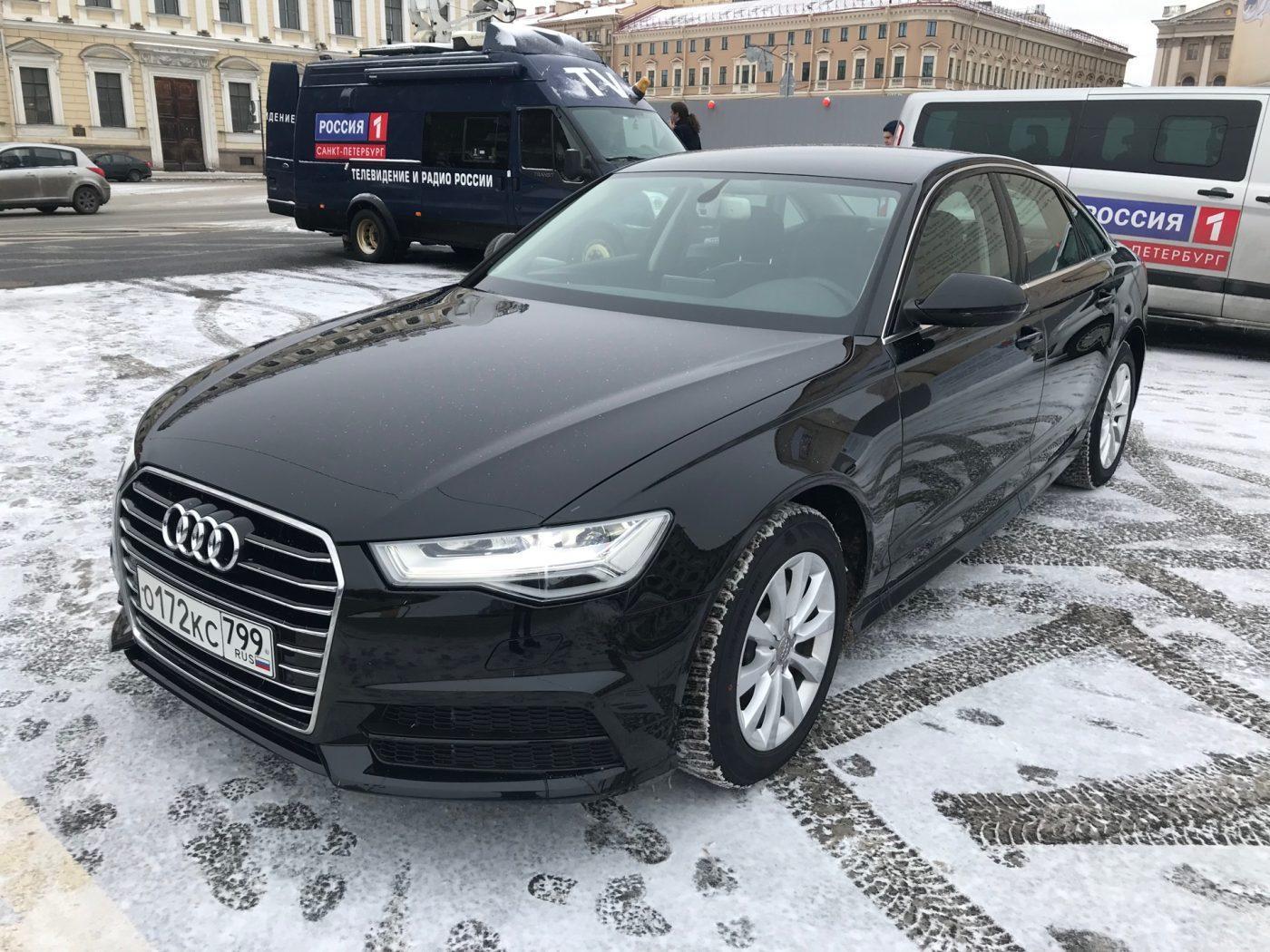 Audi A6 C7 рейстайлинг