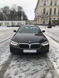 BMW 5 рестайлинг G30 2021